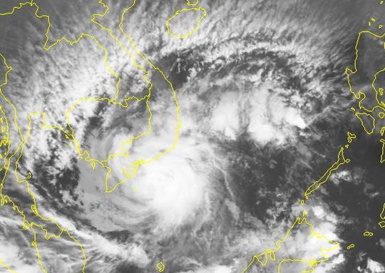 Bão số 16 sắp đổ bộ, gió giật từ trưa nay trên biển Bà Rịa-Vũng Tàu tới Cà Mau - Ảnh 2.