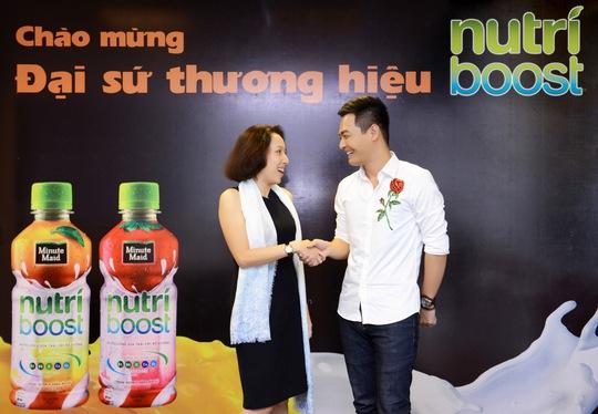 Nhãn hàng Nutriboost ra mắt đại sứ thương hiệu năm 2017