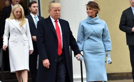 Bà Melania Trump ít xuất hiện trước công chúng kể từ sau lễ nhậm chức của chồng. Ảnh: NDTV