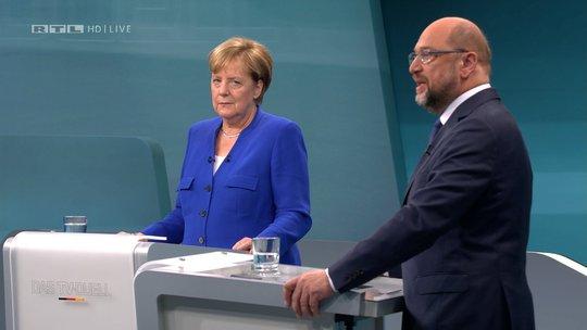Bà Merkel gây ấn tượng trước thềm tổng tuyển cử - Ảnh 1.