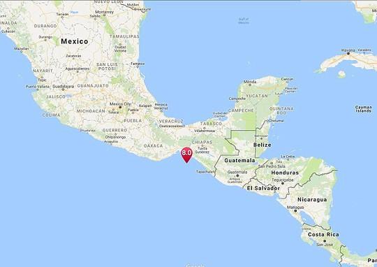 Động đất cấp độ 8 gần Mexico, cảnh báo sóng thần 8 nước - Ảnh 2.