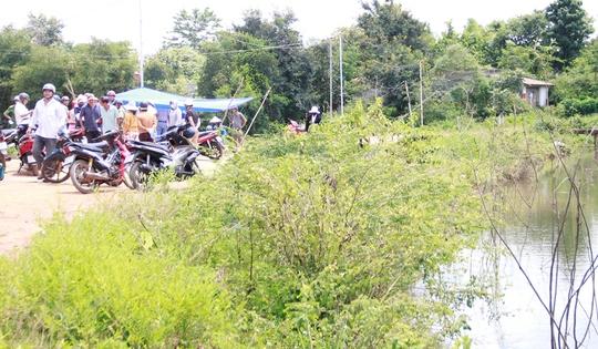 Đi câu cá, tá hỏa phát hiện thi thể phụ nữ nổi trên hồ - Ảnh 1.