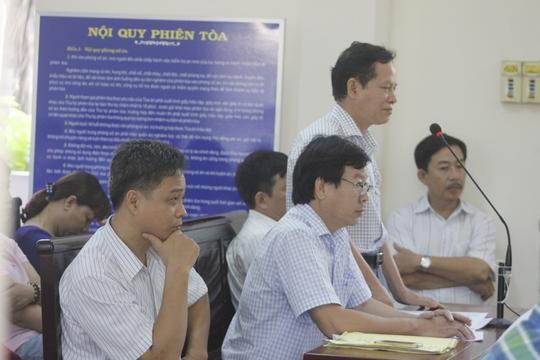 Các bác sĩ của Viện Pháp y tâm thần Bệnh viện Trung ương Biên Hòa tại phiên xét xử