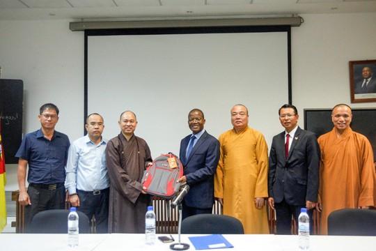 Lập Trung tâm đầu tiên của Phật giáo Việt Nam tại châu Phi - Ảnh 12.