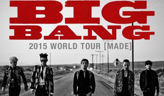 Big Bang dẫn đầu bảng xếp hạng hút khán giả - Ảnh 1.