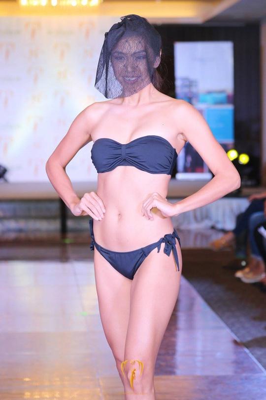 Tranh cãi việc thí sinh hoa hậu che mặt trình diễn bikini - Ảnh 4.