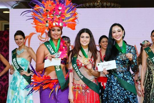 Hà Thu có thêm giải phụ tại đấu trường Hoa hậu Trái đất - Ảnh 5.