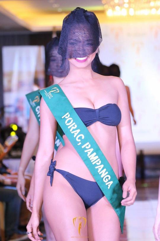 Tranh cãi việc thí sinh hoa hậu che mặt trình diễn bikini - Ảnh 3.