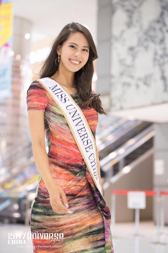 Cận cảnh nhan sắc Tân Hoa hậu Hoàn vũ Nhật Bản - Ảnh 6.