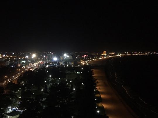 Một góc bãi biển Quy Nhơn rất đẹp bị lấp thời ông Thiện làm Bí thư Tỉnh ủy Bình Định