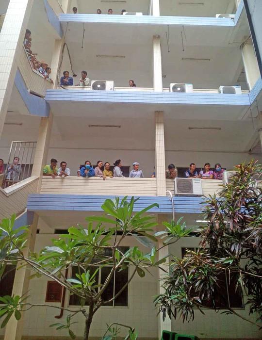 Bệnh viện Đa khoa tỉnh Long An, nơi xảy ra vụ việc
