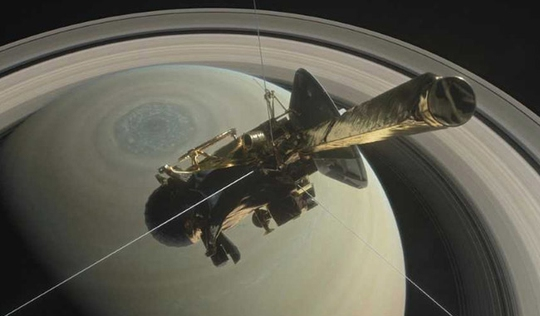 Sứ mệnh tự sát của Cassini - Ảnh 1.
