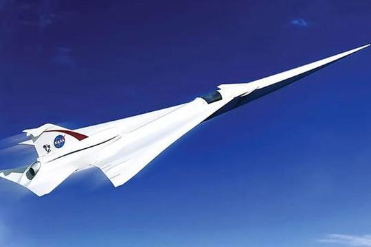 Máy bay phản lực Concorde mới của NASA có thể đạt vận tốc 2.180 km/giờ. Ảnh: NASA