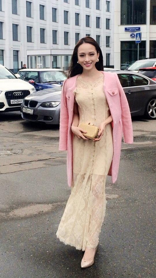 Hoa hậu Phương Nga lúc chưa bị bắt