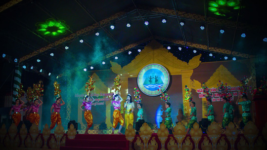 Lễ khai mạc ngày hội mang bản sắc độc đáo của đồng bào dân tộc Khmer Nam bộ