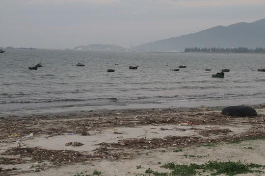 Hơn 1 km bờ biển Đà Nẵng tràn ngập hàng trăm tấn rác - Ảnh 9.