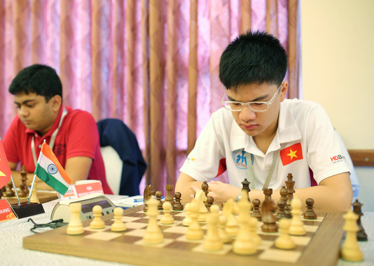 Anh Khôi (phải) thể hiện bước tiến mạnh mẽ ở giải năm nay Ảnh: Đào Tùng