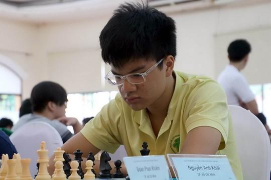 Nguyễn Anh Khôi vô địch Giải Các đấu thủ mạnh toàn quốc - Ảnh 1.