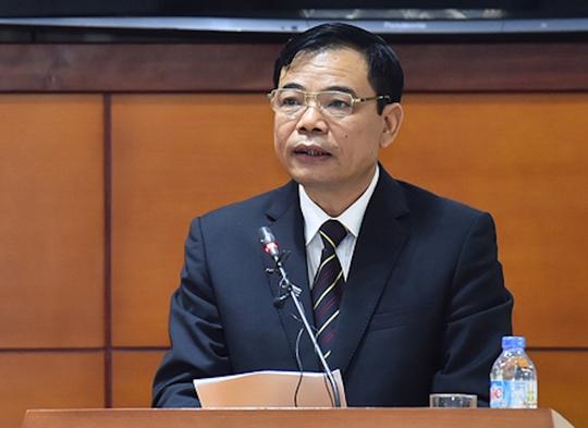 Bộ trưởng Bộ Nông nghiệp và phát triển nông thôn Nguyễn Xuân Cường - Ảnh Quochoi
