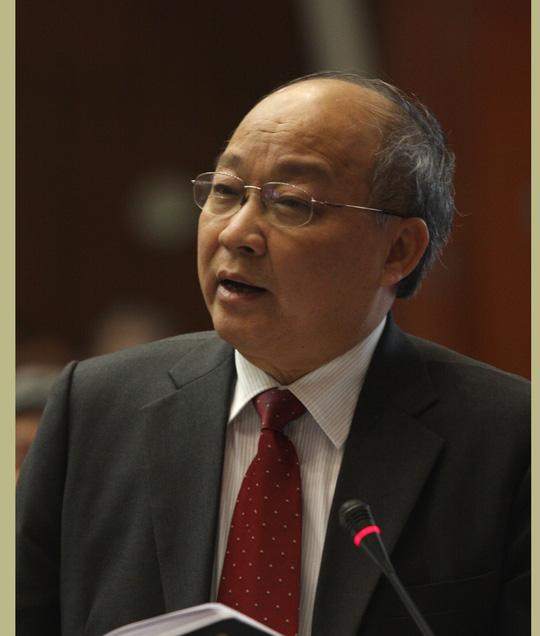 TS.BS Nguyễn Quốc Triệu, Trưởng ban Bảo vệ sức khỏe Trung ương
