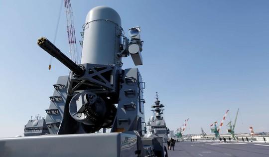 Vũ khí trên tàu Kaga. Ảnh: Reuters