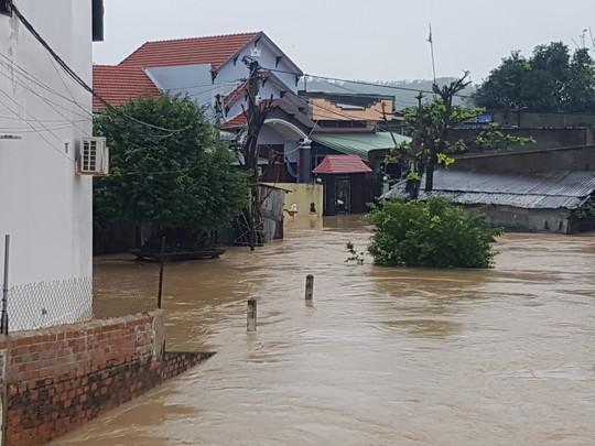 Lũ lớn, hàng ngàn ngôi nhà ở Bình Định lại bị ngập nặng - Ảnh 2.