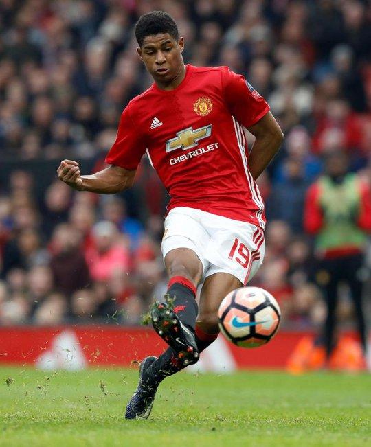 Tiền đạo Rashford được Mourinho đánh giá cao