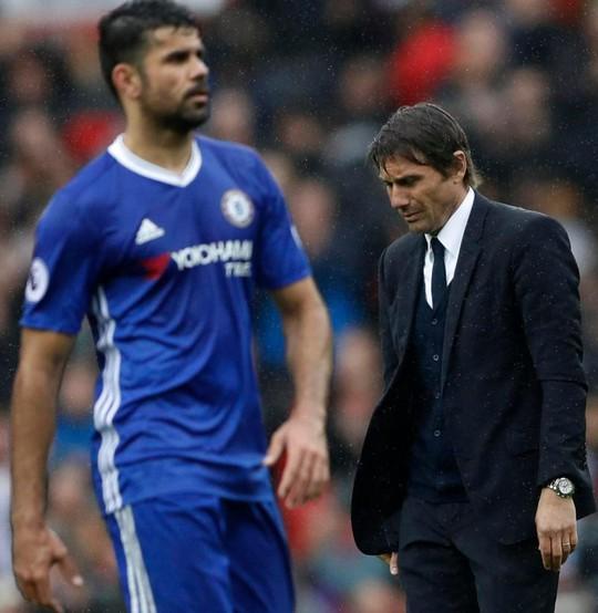 Conte xin lỗi vì lộ tin nhắn đuổi Costa - Ảnh 1.
