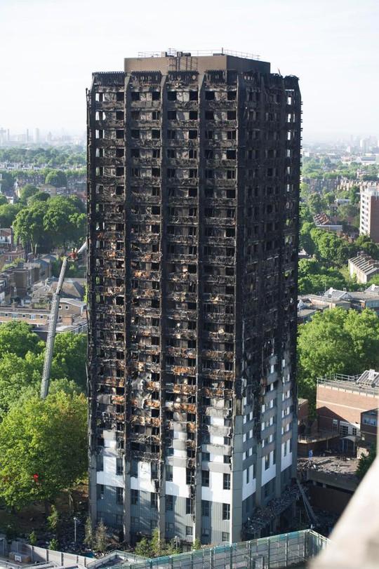 Vụ cháy ở London: Con cõng mẹ chạy từ tầng cao nhất xuống đất - Ảnh 3.