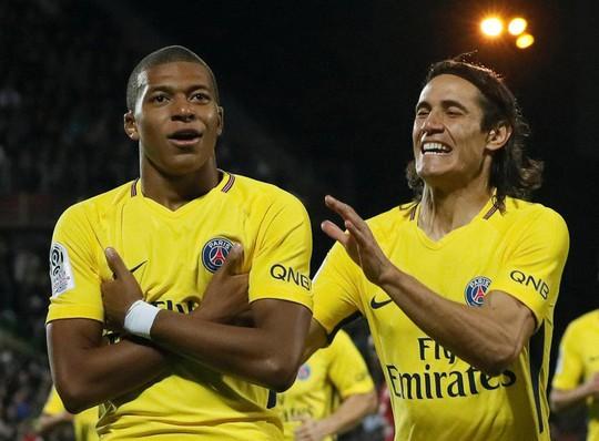 PSG đại thắng trong ngày Mbappe ra mắt - Ảnh 1.