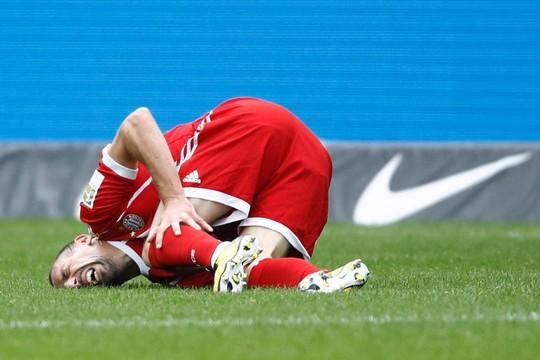 Ribery có nguy cơ giã từ sự nghiệp vì chấn thương - Ảnh 3.