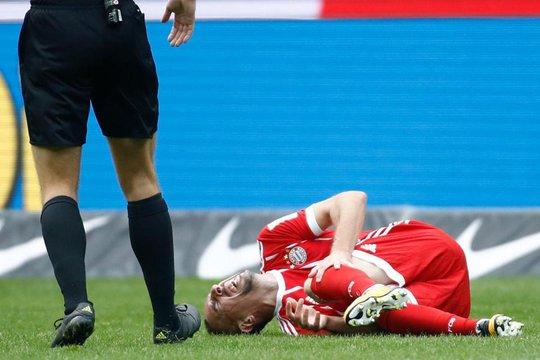 Ribery có nguy cơ giã từ sự nghiệp vì chấn thương - Ảnh 2.