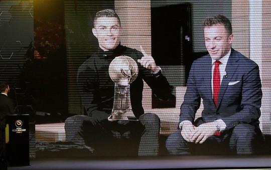 Thầy trò Ronaldo ẵm giải thưởng Toàn cầu tại Dubai - Ảnh 1.