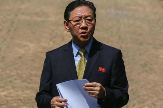 Đại sứ Triều Tiên tại Malaysia Kang Chol Ảnh: REUTERS