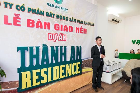 Công ty Bất động sản Vạn An Phát bàn giao đất nền dự án Thành An Residence - Ảnh 3.