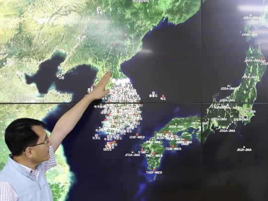 Động đất đáng ngờ ở Triều Tiên - Ảnh 1.