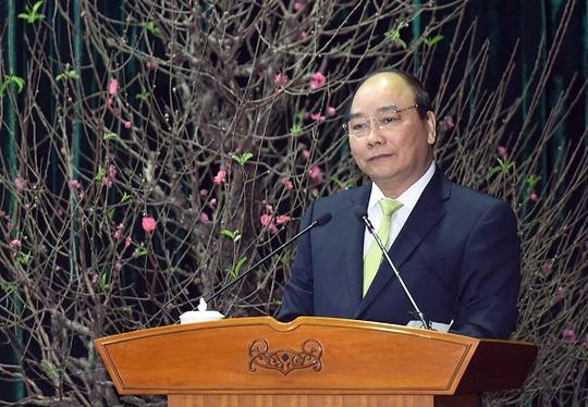 Thủ tướng Nguyễn Xuân Phúc phát biểu tại Hội nghị tổng kết công tác văn hóa, thể thao và du lịch