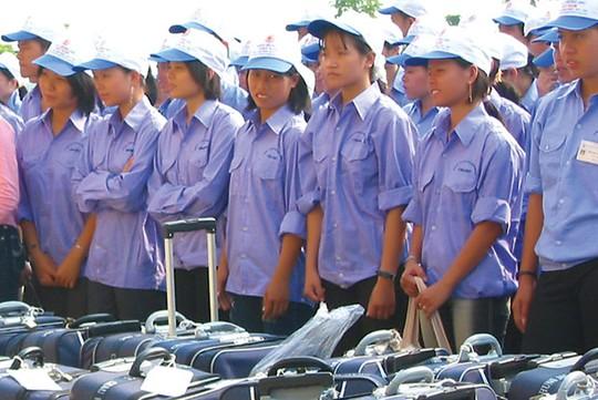 Lao động Việt Nam đi làm việc ở nước ngoài Ảnh Internet