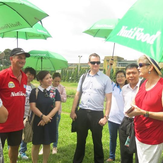 Giáo sư Úc hỗ trợ dinh dưỡng cho Học viện NutiFood - Ảnh 1.