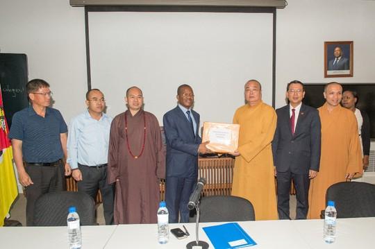 Lập Trung tâm đầu tiên của Phật giáo Việt Nam tại châu Phi - Ảnh 5.