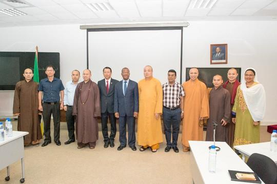 Lập Trung tâm đầu tiên của Phật giáo Việt Nam tại châu Phi - Ảnh 6.