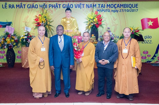 Lập Trung tâm đầu tiên của Phật giáo Việt Nam tại châu Phi - Ảnh 11.
