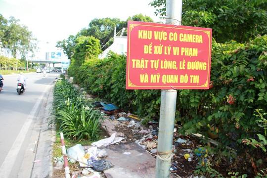 Ra khỏi sân bay Tân Sơn Nhất là ngập rác! - Ảnh 4.
