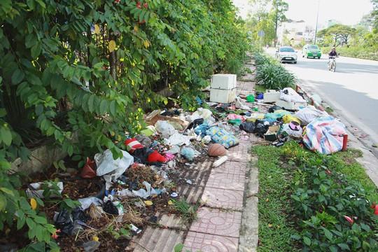 Ra khỏi sân bay Tân Sơn Nhất là ngập rác! - Ảnh 2.