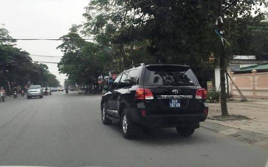 Chiếc xe ô tô hạng sang Toyota Land Cruise V8 có giá trên 2,7 tỉ đồng được Cienco4 tặng cho tỉnh Nghệ An