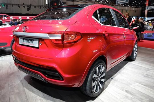 Tata Tigor - mẫu subcompact có giá 117 triệu đồng