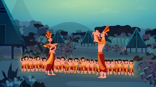Dân mạng ngợi khen phim hoạt hình Con Rồng cháu Tiên - Ảnh 3.
