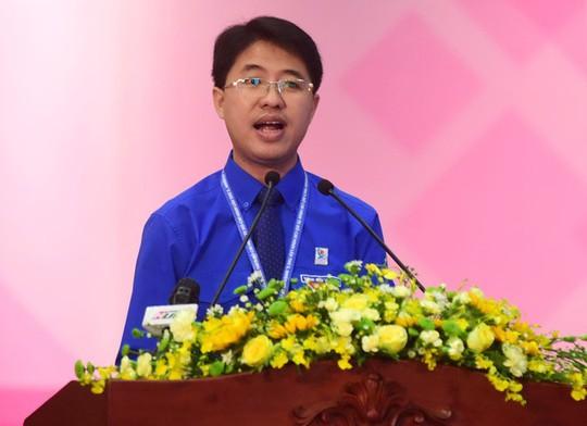 Ông Phạm Hồng Sơn tái đắc cử Bí thư Thành đoàn TP HCM - Ảnh 1.