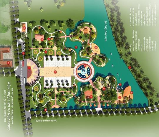 Hội An kêu gọi đóng góp xây công viên – đài tưởng niệm 32 tỉ - Ảnh 2.