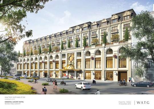 Phối cảnh dự án khách sạn 6 sao đầu tiên tại Hà Nội